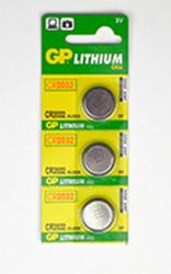 Train Tech Batteries - CR2032 (3) for AL/CL/SFX Items HO/OO Gauge TTBAT1
