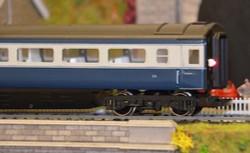 Train Tech Automatic Coach Lighting - Cool White/Flickering Tail N Gauge TTCN27