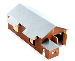 Kestrel Goods Shed Kit N Gauge GMKD43