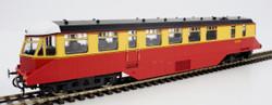 Heljan AEC Railcar BR Crimson/Cream Dark Roof OO Gauge Diesel Model Train HN19403