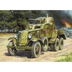 ZVEZDA 3617 Soviet Armored Car Ba-10 Model Kit 1:35