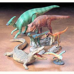 TAMIYA Dinosaurs 60107 Mesozoic Creatures 1:35