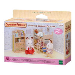 Childrens Bedroom Dolls Furniture - SYLVANIAN Families Figures 4254