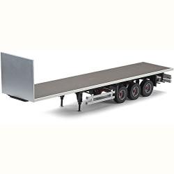 TAMIYA CARSON Trailer 3 Axle Flat Bed 1:14 C907081 500907081