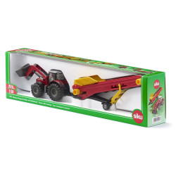 Siku Massey Ferguson w/conveyor Diecast Model Toy 1996 1:50