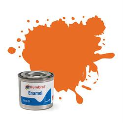 HUMBROL 18 Orange Gloss Enamel 14ml Model Kit Paint
