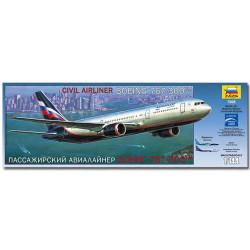 ZVEZDA 7005 Boeing 767-300 Aircraft Model Kit 1:144