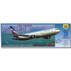 ZVEZDA 7005 Boeing 767-300 Aircraft Model Kit 1:144