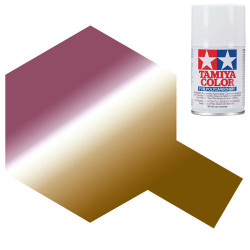 TAMIYA PS-47 Iridescent Pink/Gold Polycarbonate Spray Paint 100ml RC Car Body