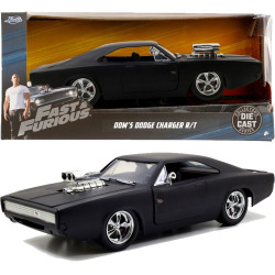 Jada Hollywood Rides Fast & Furious 7 - Doms Charger 1:24 Scale Car