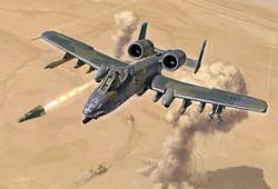 ITALERI A-10 'Gulf War' 1376 1:72 Aircraft Model Kit