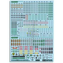 TAMIYA 12625 WW2 Germ Military Insignia 1:16 1:35 Military Model Kit
