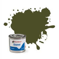 HUMBROL 155 Olive Drab Matt Enamel 14ml Model Kit Paint