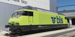 Roco BLS Re465 013-1 Electric Locomotive VI (DCC-Sound) RC71939 HO Gauge