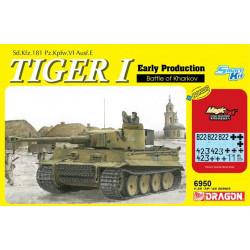Dragon 6950 Tiger ! Early Production, Battle of Kharkov 1:35 Plastic Model Kit