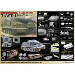 Dragon 6888 Tiger I Mid-Production 'Otto Carius' 1:35 Plastic Model Kit
