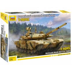 Zvezda 5065 T-90MS Russian Main Battle Tank 1:72 Model Tank Kit