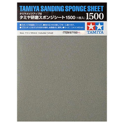 TAMIYA 87150 Sanding Sponge Sheet 1500 - Tools / Accessories