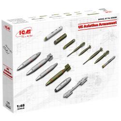 ICM 48406 US Aviation Armament 1:48 Plastic Model Kit