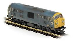 Dapol Class 22 6330 Blue FYE Font B Wthrd N Gauge DA2D-012-012