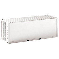 PIKO 20' Container Undecorated G Gauge 36302