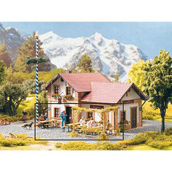 PIKO Beer Garden Tables and Benches Kit G Gauge 62282