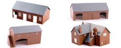 Kestrel Farm Kit Set N Gauge GMKD2003