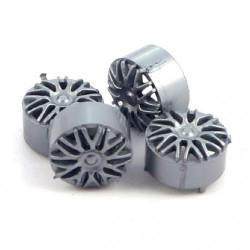 NSR 17'' BBS Silver (4) NSR5426