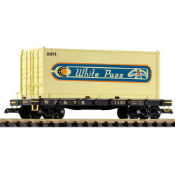 PIKO WP&YR Container Wagon 1123 G Gauge 38751