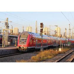 PIKO Hobby DB Regio 2nd Class Bi-Level Driving Car VI (1:100) HO Gauge 58805