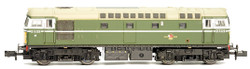 Dapol Class 26 D5310 BR Green SYP As Preserved (DCC-Fitted) N Gauge 2D-028-002D