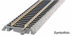 Piko A-Track w/Roadbed (G239) Straight 239mm HO Gauge 55400