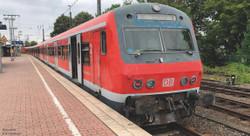 Piko Expert DBAG 2nd Class Control Coach V HO Gauge 58506