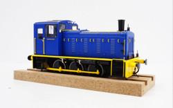 Heljan Class 03 Industrial Blue Flowerpot Exhaust O Gauge Diesel Model Train HN2059