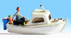 Noch Fishing Boat with Figures N Gauge 37822