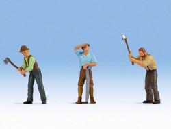Noch Lumberjacks (3) Figure Set N17843 O Scale