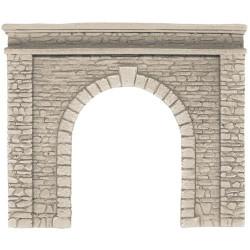 NOCH Single Track Natural Stone Hard Foam Tunnel Portal HO Gauge Scenics 58061