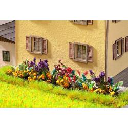 NOCH Flower Garden Laser Cut Mini+ (17) HO Gauge Scenics 14050
