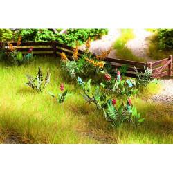 NOCH Field Plants and Wild Flowers Laser Cut Mini+ (17) HO Gauge Scenics 14056