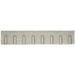 NOCH Extra Long Retaining Wall Natural Stone 66x12.5cm HO Gauge Scenics 58067