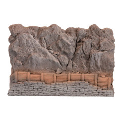 NOCH Rock Fall Natural Stone Hard Foam 23.5x16cm HO Gauge Scenics 58152