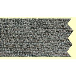 NOCH Extra Long Wall Quarrystone Hard Foam 65x12.5cm HO Gauge Scenics 58255