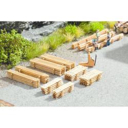 NOCH Piles of Planks (8) Laser Cut Minis Kit HO Gauge Scenics 14628