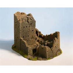 NOCH Castle Ruin Hard Foam Building 18x14x12cm HO Gauge Scenics 58600