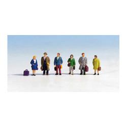 NOCH Passengers (6) Figure Set HO Gauge Scenics 15220