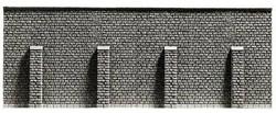 Noch Extra Long Retaining Wall Hard Foam 39.6x7.4cm N Gauge 34857