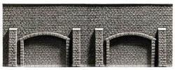 Noch Extra Long Arcade Wall 39.6x7.4cm N Gauge 34859