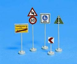 Noch German Traffic Signs (32) N Gauge 34121