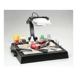TAMIYA 74064 Work Stand with Magnifying Lens - Model Accessories