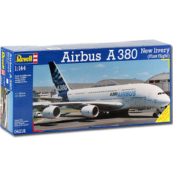 "REVELL Airbus A380 ""New Livery"" 1:144 Aircraft Model Kit - 04218"